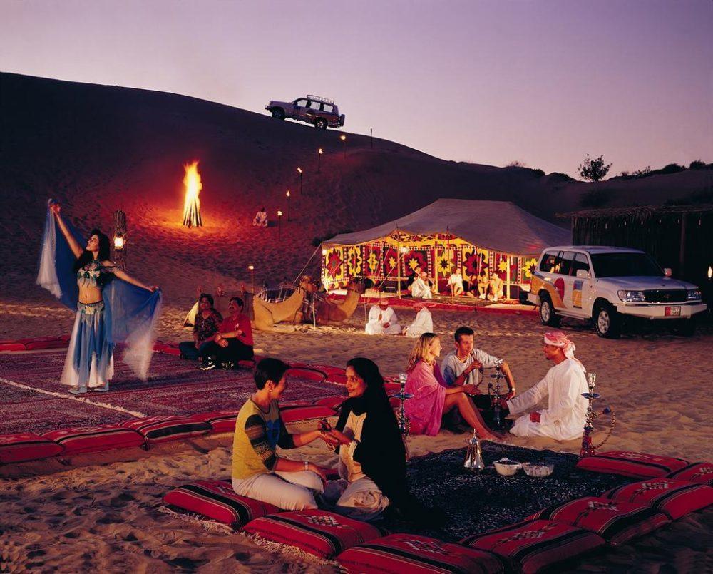 Туры в ОАЭ. Фольклорные вечера у бедуинов